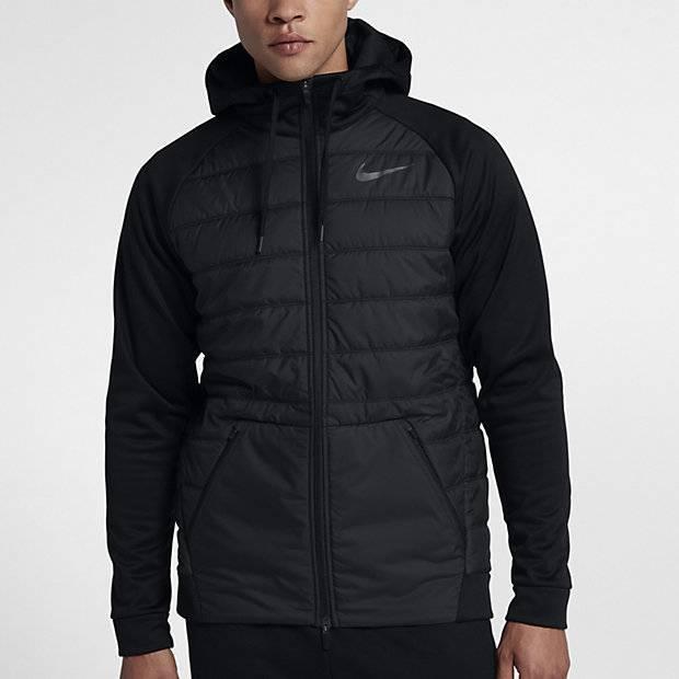 b31c0cdc Мужская куртка для тренинга Nike Therma (Черный) (864103-010) купить ...