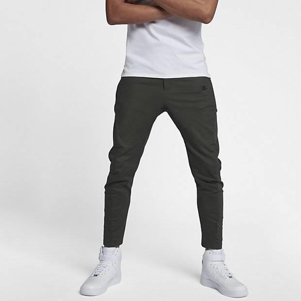4909fc362b15 Мужские брюки Nike Sportswear Bonded (Оливковый) (886166-355) купить ...