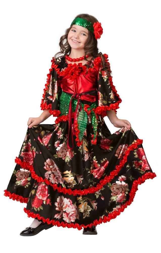 платьев фото цыганского костюма музея